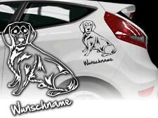 Alpenlandische Dachsbracke Voiture Autocollant,Alpine Dog Signe Autocollant