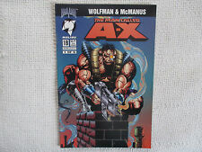 1994 The Man Called A-X Wolfman & McManus #1 November Malibu Comics 9.2 NM-