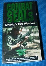 VHS Movie: Combat Seals: America's Elite Warriors