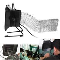 Löten Rauchabsorber Rauchabzug Kit Lüfter Aktivkohle-Filter 30W mit 2M Zugrohr
