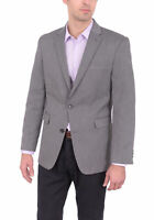Mens 36S Tommy Hilfiger Trim Fit Gray Herringbone Two Button Blazer Sportcoat