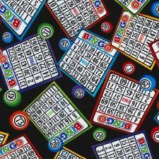 Timeless Treasures Novelties 2017 C5200 Bingo COTTON fabric BTY