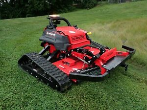 """NEW RC MOWERS TK-60XP TRACKED SLOPE MOWER, REMOTE CONTROL, 60"""" DECK, 35 HP EFI"""