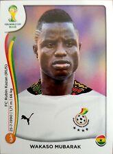 2014 Panini World Cup Stickers Soccer Wakaso Mubarak #538