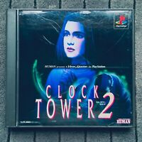 Clock Tower 2 Playstation 1 PS1 PSX Sony Japan
