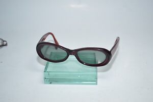 Vintage Sergio Tacchini S.T. 1563-S Sunglasses Frames Red Italy