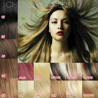 100% Real Remy Human Hair Brown Blonde Clip In Hair Extensions 20 Inchs 80 Gram
