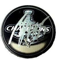 SERGEI GONCHAR SIGNED PITTSBURGH PENGUINS CHAMPS PUCK