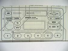 Ford  5000 RDS E-O-N  MK2  Radio Operating Manual Instruction Audio Book