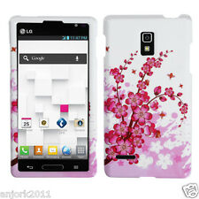LG Optimus L9 T-Mobile P769 Snap-On Case Cover Accessory Spring Flowers