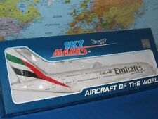 1/200 SKYMARKS EMIRATES AIRLINES AIRBUS A380-800 W/GEAR AIRCRAFT MODEL BRAND NEW