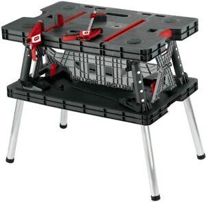 Keter 17182239 Master Pro DIY Folding Work Table