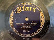 LIONEL PARENT STARR Canada 16103 C'est Un Mauvais Garcon Quebecos French HOT 78