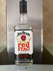 Jim Beam 'Red Stag' Black Cherry Infused Kentucky Bourbon Whiskey - Empty Bottle