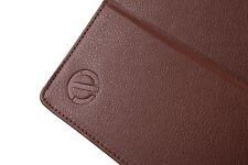 Everything Tablet Leather Case Flip Stand Elastic Hand Strap iPad 2/3/4 - Brown