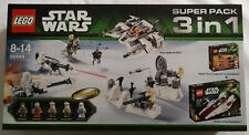 LEGO® Star Wars™ 66449 3 in 1 Pack: 75014 Battle of Hoth, 75000, 75003 A-Wing