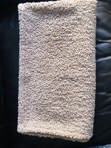 Target Threshold Studio McGee Boucle Brown Sofa Throw Blanket - plush rever