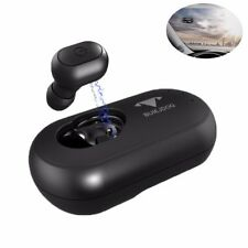 Solar Powered Bluetooth Headphones Vehicle-mounted Car Headset Wireless