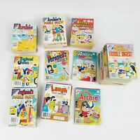 Vtg The Archie Digest Library Lot Of 66 JugHeads, Betty & Veronica & More Comic