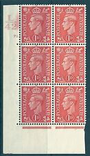 1D RED CILINDRO controllo L 42 78 DOT Unmounted MINT