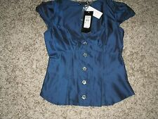 RIVER ISLAND FILM NOIR MASCI EVENING TOP SIZE 8 NEW £34.99 TAGS