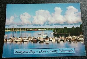 STURGEON BAY, DOOR COUNTY, WISCONSIN; USED; POSTED; POST DATE ON CARD 1994