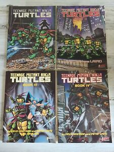 Teenage Mutant Ninja Turtles Book Vol 1 2 3 4 TPB Graphic Novel Lot Set