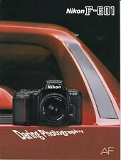Prodotto originale per Nikon opuscolo informativo per fotocamera F-601