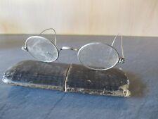 +++Antike Brille von Oma mit Federbügel und antikem Etui++Sammler 2