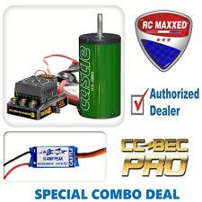 Castle Creations Sidewinder 8 ESC 2200Kv Motor  010-0139-00 w/ FREE Castle BEC