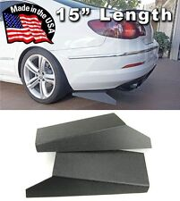 """ABS 15"""" Rear Bumper Lip Apron Splitter Diffuser Valence Spats Skirts For  Toyota"""