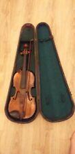 Antique Violin And W.E Hill & Sons Cofin Violin Case
