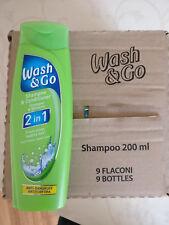 WASH and GO 2in1 Anti Dandruff Anti Schuppen, 10 FLASCHEN