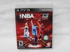 PS3 NBA 2K13 (Sony PlayStation 3, 2012)