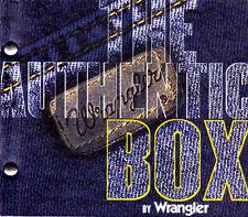 THE ATHUENTIC BOX BY WRANGLER - CD 5 TRACKS VERY RARE PROMO 1999 SPAIN- WAX + KÉ