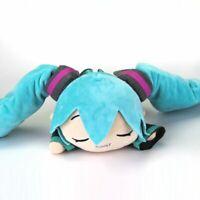 Anime Hatsune Miku Sleeping Drooling Soft Stuffed Doll  Plush Kids Xmas Toy Gift
