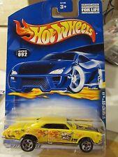 Hot Wheels '67 Pontiac GTO #092 Yellow