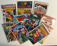 Bronze Silver Copper Age Lot of Marvel Gladstone DC Archie - Damaged Junk Drawer
