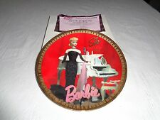 Enesco From Barbie With Love Solo In The Spotlight 1960 Plate