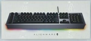 New REAL-DEAL Dell *FRENCH*  Alienware 105KEY pro gaming keybd 16.8M RGb 1R5K7