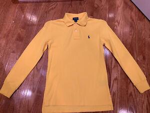 NEW Kids boys Ralph Lauren polo Classic-Fit Mesh Cotton Polo Shirt SIZE M(10-12)