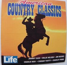 AMERICAN COUNTRY CLASSICS CD JIM REEVES JOHNNY CASH WILLIE NELSON CHARLEY PRIDE