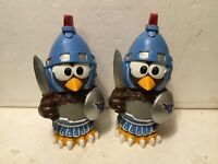 (2) Tennessee Titans Thematic Owl NFL Garden Statues by Forever Collectibles