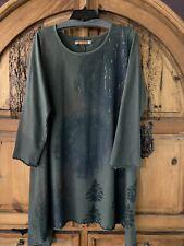Blue Fish Clothing Dress, Tunic, Size 1, Organic Cotton🐟