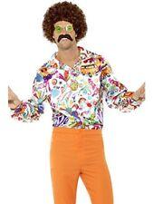 Chemise Groovy Hippie Années 60 Homme XL 44910xl