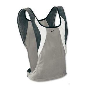 AU Ship~Nike Unisex Lightweight Reflective Running Maillot Vest , Grey