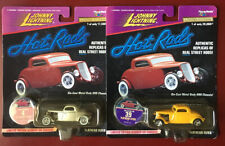 2 PACK: JOHNNY LIGHTNING HOT RODS Posies Inc '33 FLATHEAD FLYER ~NEW N Mint 1997