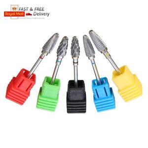 3/32'' Nail Art Electric Ceramic Carbide Rotary File Drill Bit Manicure Pedicure