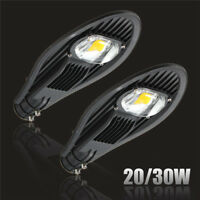 20W 30W LED Road Street Parking Flood Light Industrial Lamp Outdoor Yard 85-265V