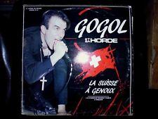 Gogol et la Horde - La Suisse à Genoux - Double Vinyl LP - Occasion